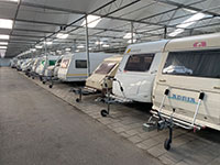 Caravanstalling Persoon Caravan Care valet parking